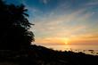 Sunset on Lanta long beach