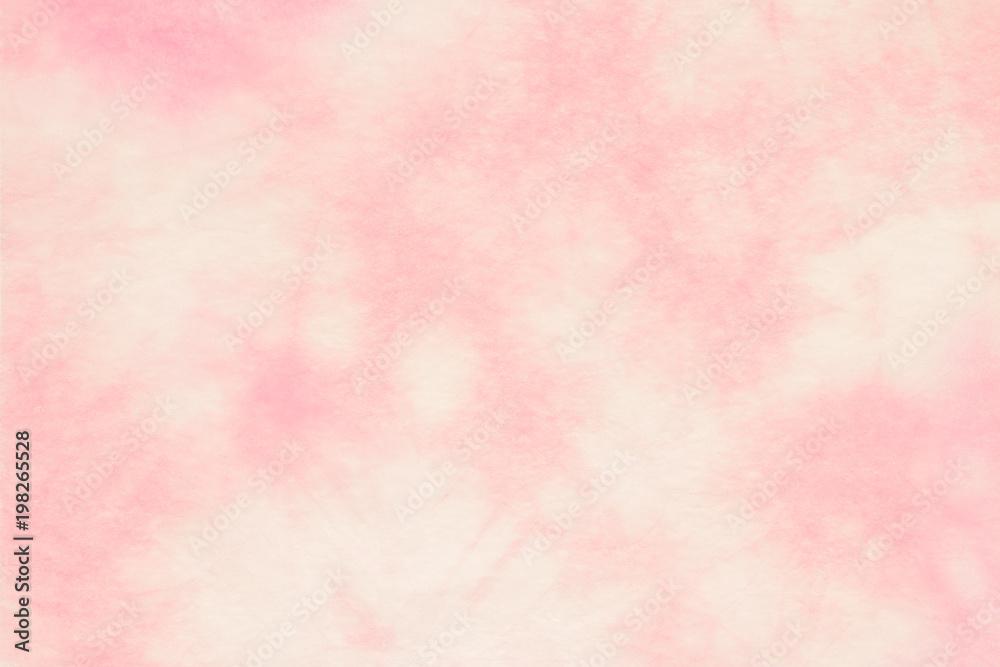 Fototapeta 和紙 テクスチャ ビンテージ ピンク