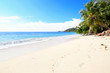 Beautiful beach, Praslin Island, Seychelles