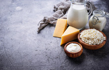 Assortment Of Various Dairy Pr...