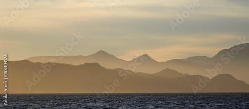 Photo Baja sunset