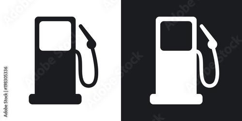 Obraz na plátně  Vector gas station icon
