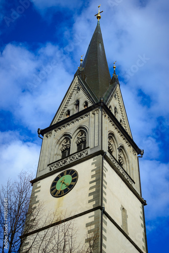 Photo Tower of the Peterskirche in Konstanz at Lake Constance