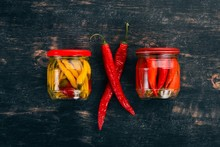 Pickled Hot Peppers Chili. On ...