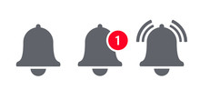 Notification Bell Icon For Inc...