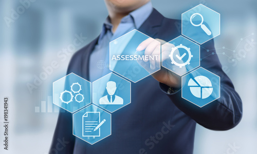 Assessment Analysis Evaluation Measure Business Analytics Technology concept Wallpaper Mural