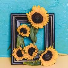 Sunflowers Inspired By Van Gogh