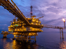 Offshore Oil And Gas Central P...