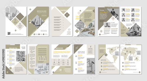 Foto  Brochure creative design