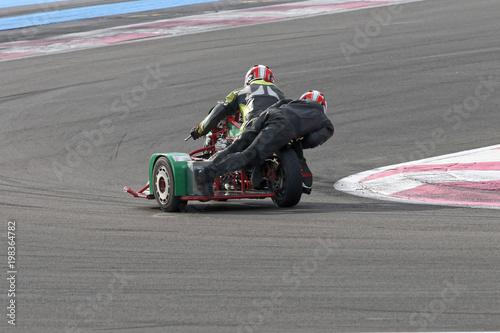 Photo Stands Motor sports singe en action