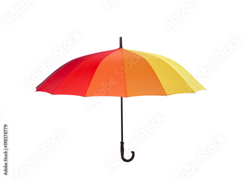 Fotografía  Multi colored umbrella