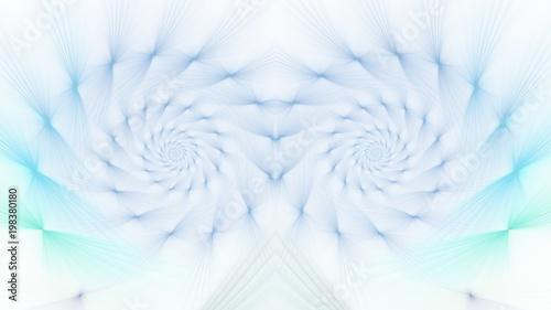 Tuinposter Spiraal Hintergrund - Vorlage - Strahlenschnecke