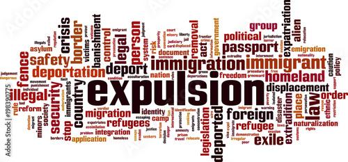 Photo Expulsion word cloud