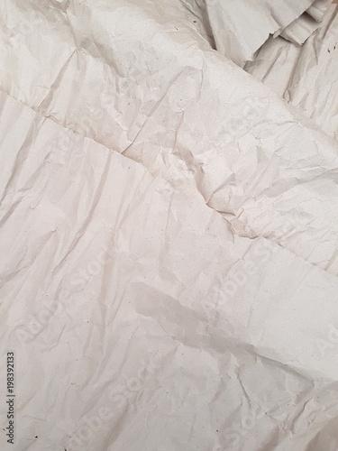 Fotografie, Obraz  Textura papel arrugado claro