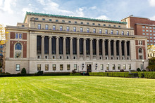 Butler Library Building At Columbia University, New York, USA