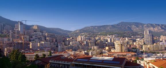 Fototapeta Monte Carlo cityscape in Monaco