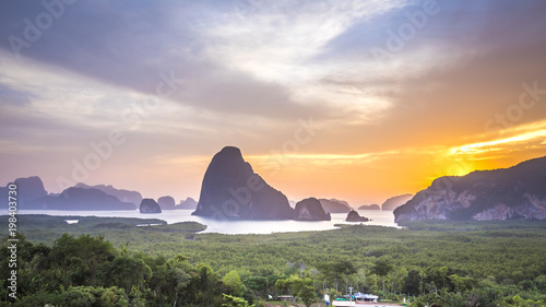 Samet Nang She Viewpoint, Phang Nga, Thailand