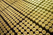 Hundreds Of Brass Ammo Rounds ...