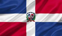 Dominican Republic Flag Waving...