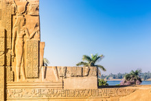 Temple Of Kom Ombo, Located In...