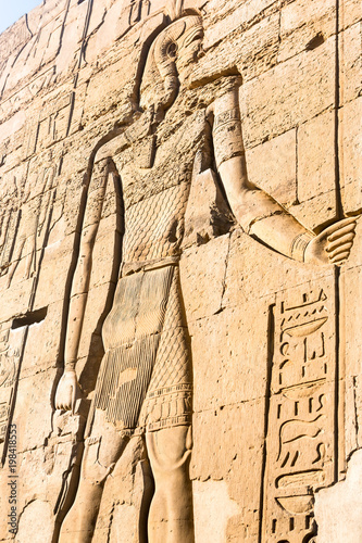 Foto op Canvas Egypte Temple of kom Ombo, located in Aswan, Egypt.