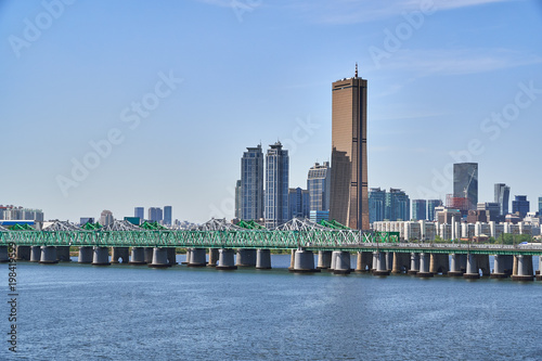 Fotografia  Landscape of Han-river in Seoul