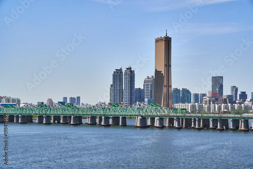 Fotografia  Landscape of Han-river in Seoul