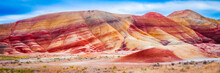 Colorful Clay Hills In The Pai...