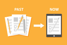 Evolution Of Devices From Pape...