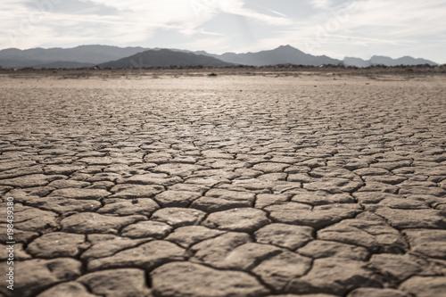 Photo Trockenheit in der Wüste