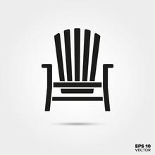Adirondack Deck Chair Vector I...