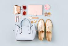 Feminine Accessories Collage W...