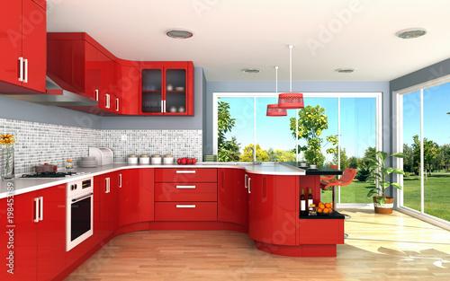 Fotografía  modern kitchen