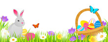 Easter Background Vector Illus...