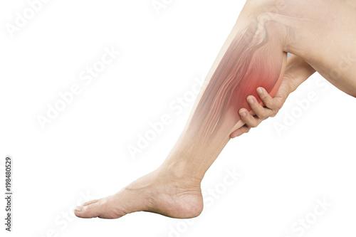Obraz na płótnie calf muscle pain