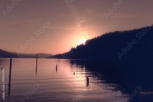 Sephia Sunset