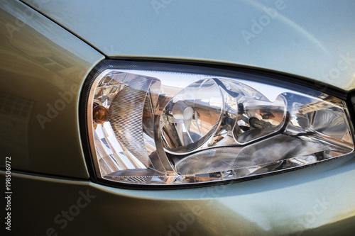 Fototapeta Car lamp. Car. obraz na płótnie