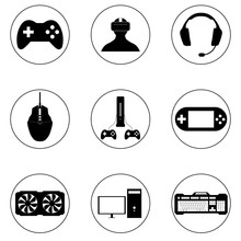 Game Icon Set, Logo