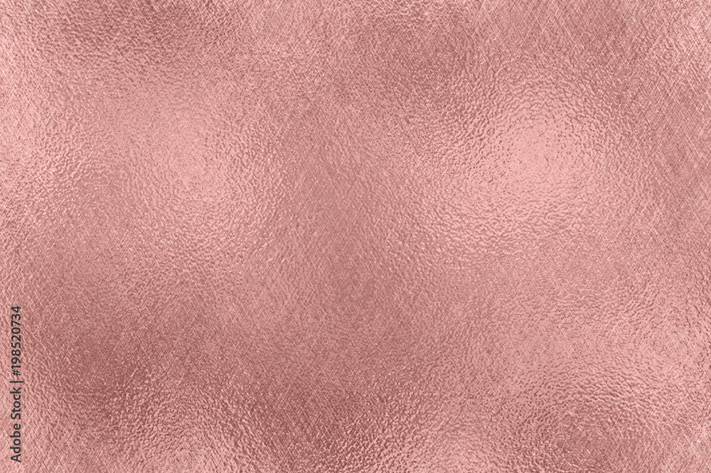 Fototapety, obrazy: Abstract background. Rose Gold foil texture.