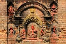 Hindu Shrine, Durbar Square, Bhaktapur, Nepal