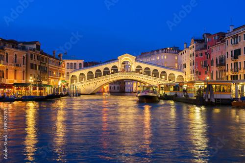 Foto op Plexiglas Venetie Rialto bridge, Venice, Italy