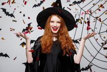 Halloween Witch Concept - Happ...