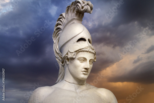Statue of ancient Athens statesman Pericles Wallpaper Mural