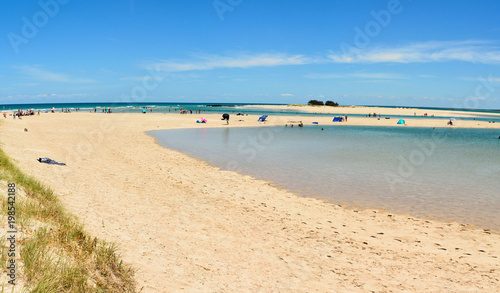 Photo  Elliott Heads beach near Bundaberg in Queensland.