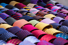 Colourful Neck Ties Displayed ...