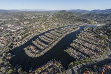 Aerial View Of Westlake Island...