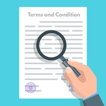Terms And Conditions Concept. ...