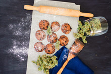 Cookies With Cannabis And Buds...
