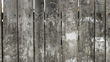 Old Rustic Wooden Fence