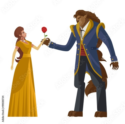 Papel de parede classic tale of princess and beast